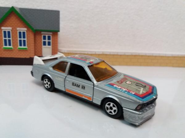 BMW 635 CSI (e24) (Norev Jet-Car, France) [1976г., серебристый, 1:43]