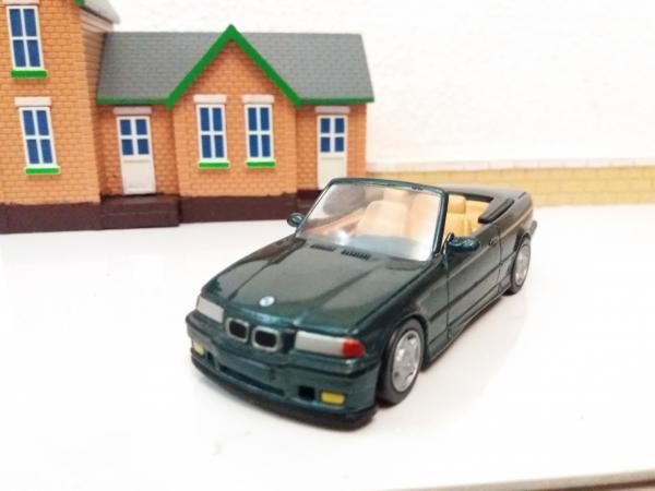 BMW M3 (E36) кабриолет (New Rey) [1995г., зелёный, 1:43]