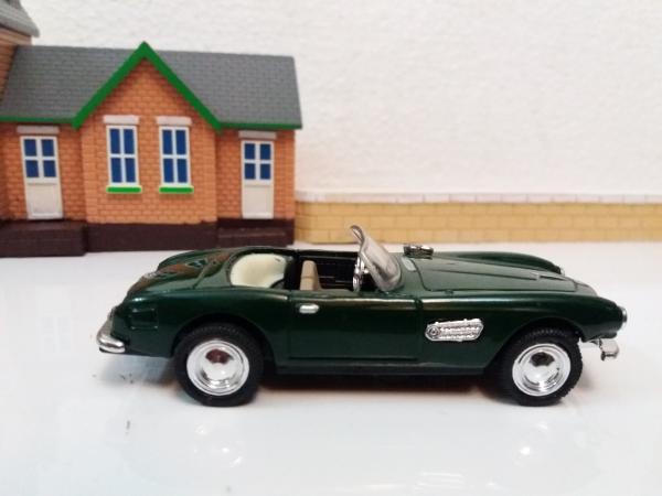 BMW 507, родстер (New Rey) [1956г., зелёный, 1:43]