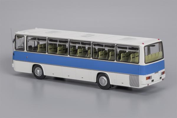 Икарус (Ikarus)-256.51 (Classicbus) [1985г., белый. сини1, 1:43]