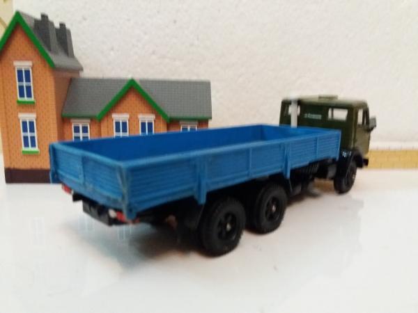 КАМАЗ-53212 (Элекон) [1978г., хаки с синим кузовом, 1:43]