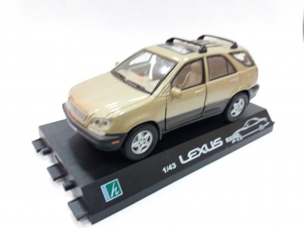 Lexus RX 300 (Cararama) [1998г., золотистый, 1:43]