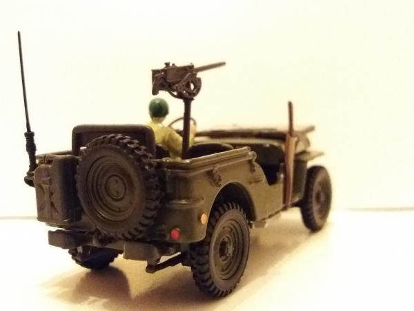 Willys MB «Jeep» (Cararama) [1942г., хаки, 1:43]