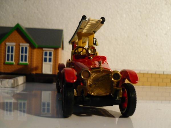 Руссо-Балт Д 24/40 пожарный (Michalych) [1913г., красный, 1:43]