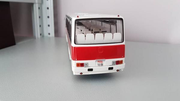 ИКАРУС(Ikarus)- 256.51 (Classicbus) [1985г., белый.бордовый, 1:43]