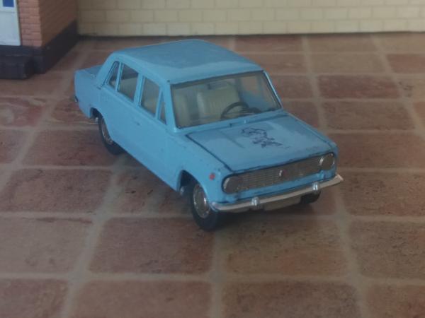 ВАЗ-2101 (А9) фестивальная (Тантал) [1970г., светло-голубой, 1:43]