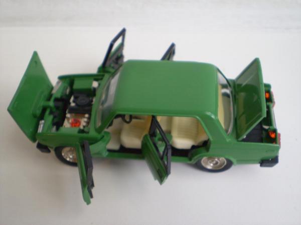 ВАЗ-2105 (А39) (Агат, Тантал, Радон) [1979г., зелёный, 1:43]