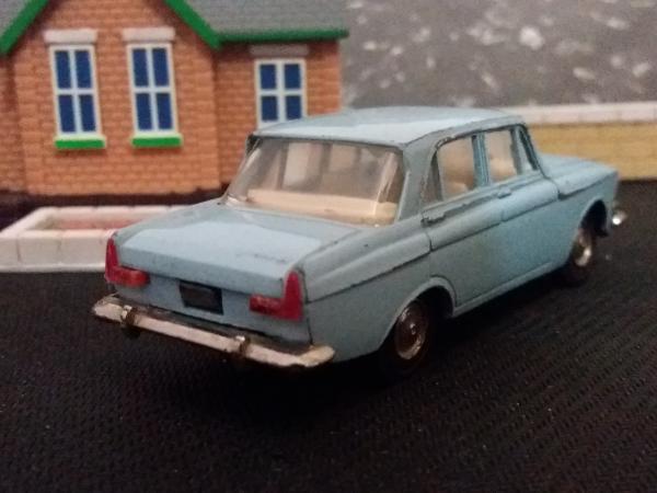 Москвич-408 (А1) (Тантал) [1964г., светло-голубой, 1:43]
