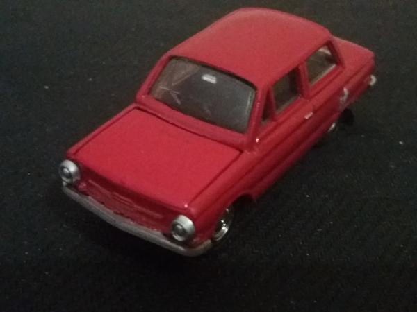 ЗАЗ-968 (А16) (Агат) [1971г., красный, 1:43]
