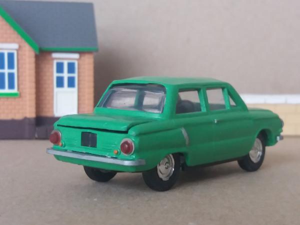 ЗАЗ-968 (А16) (Агат/Моссар) [1971г., ярко-зелёный, 1:43]