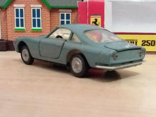 Ferrari 250 GT Berlinetta,  ремейк СССР (Запорожский титано-магниевый комбинат) [1963г., серо-голубой, 1:43]