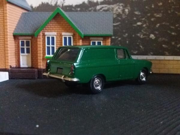 Москвич-433 (А5) (Агат, Тантал, Радон) [1966г., зелёный, 1:43]