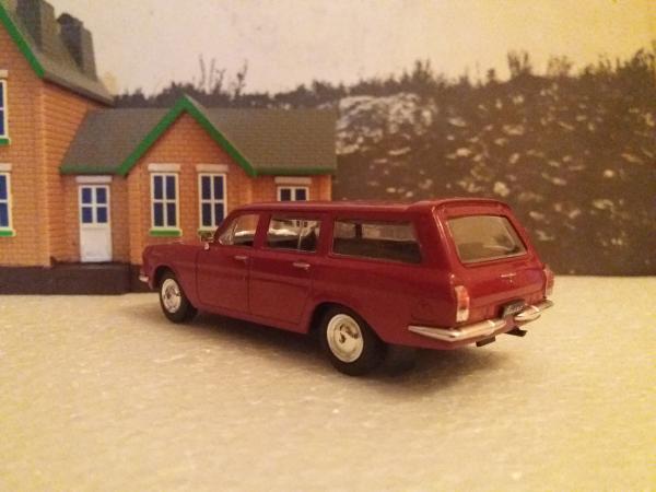 Scaldia Волга ГАЗ 2477 diesel (доработка АЛЛ) [1985г., вишнёвый, 1:43]