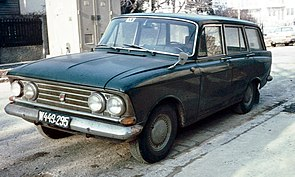 Москвич-426 (А3) (Тантал) [1967г., ярко-зелёный, 1:43]