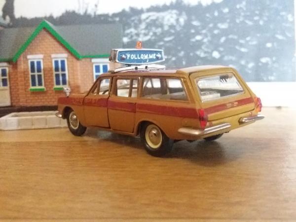 "ГАЗ-2402 ""Эскорт"" (А23) (Тантал) [1974г., оранжевый с красным, 1:43]"