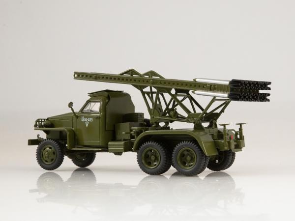 "Studebaker US6 БМ-13 ""Катюша (Автоистория (АИСТ)) [хаки, 1:43]"