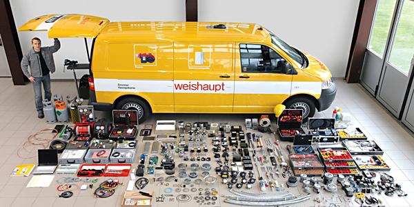 Сервисная служба компании Weishaupt