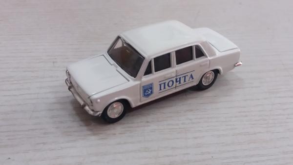 "ВАЗ-2101 ""Почта (Агат/Моссар) [1970г., белый с декалями, 1:43]"