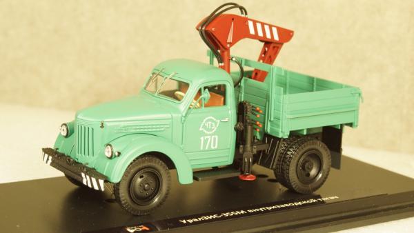 УралЗИС-355М внутризаводской тягач, TruckTyr 1:43 (TruckTyr) [1961г., Зеленый, 1:43]